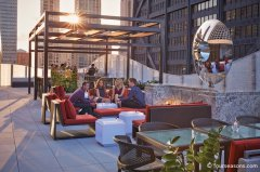 The dec Rooftop Lounge, Ritz Carlton